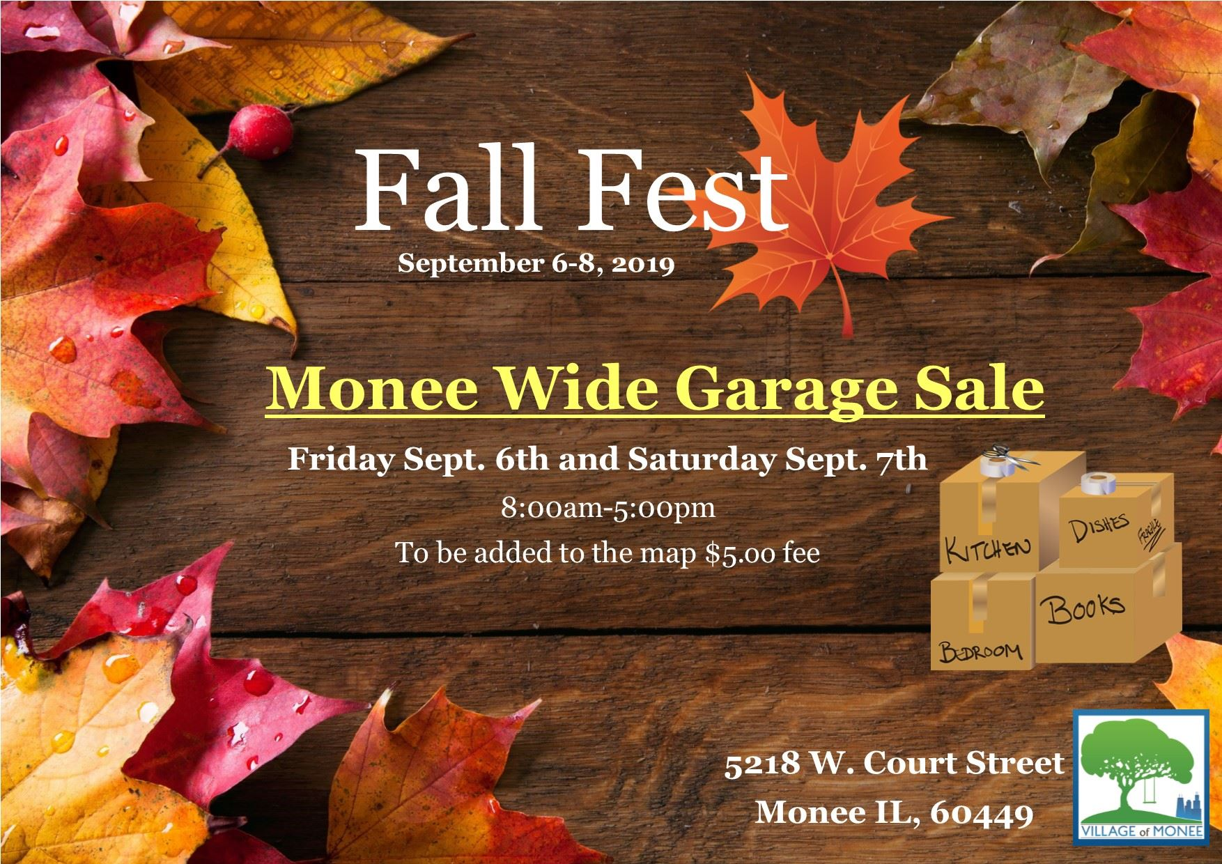 Fall Fest Garage Sale19