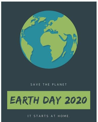 Earth Day Monee April 25th. 2020